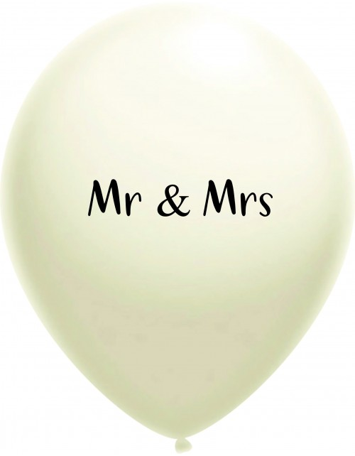 """""""Mr and Mrs"""" (30 cm)"""